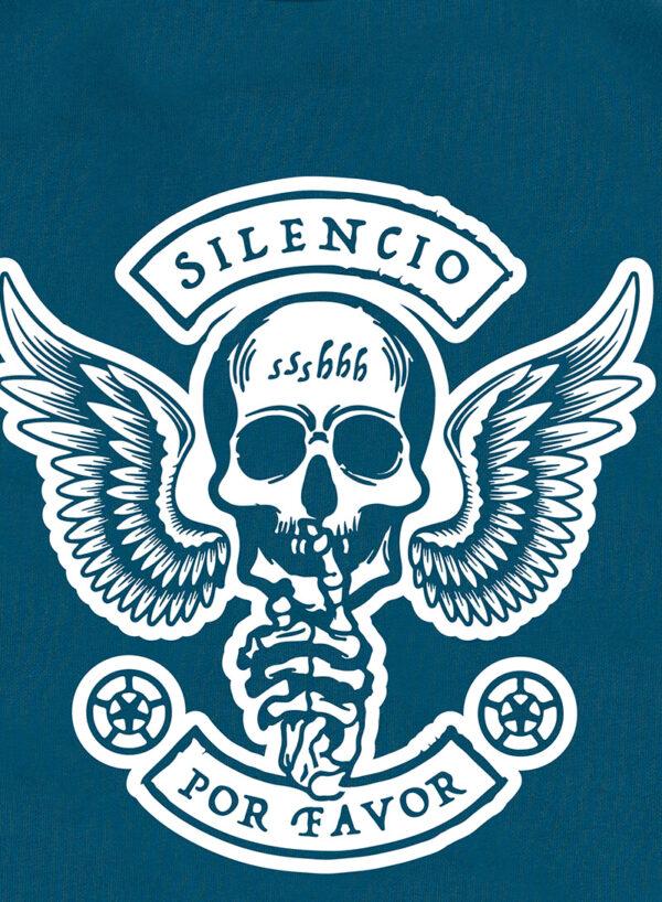 SILENCIO POR FAVOR GRIJSGROEN SWEATER