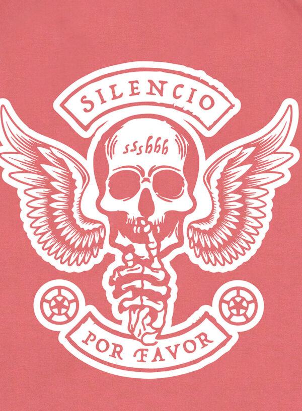 SILENCIO POR FAVOR DARKROSE SWEATER
