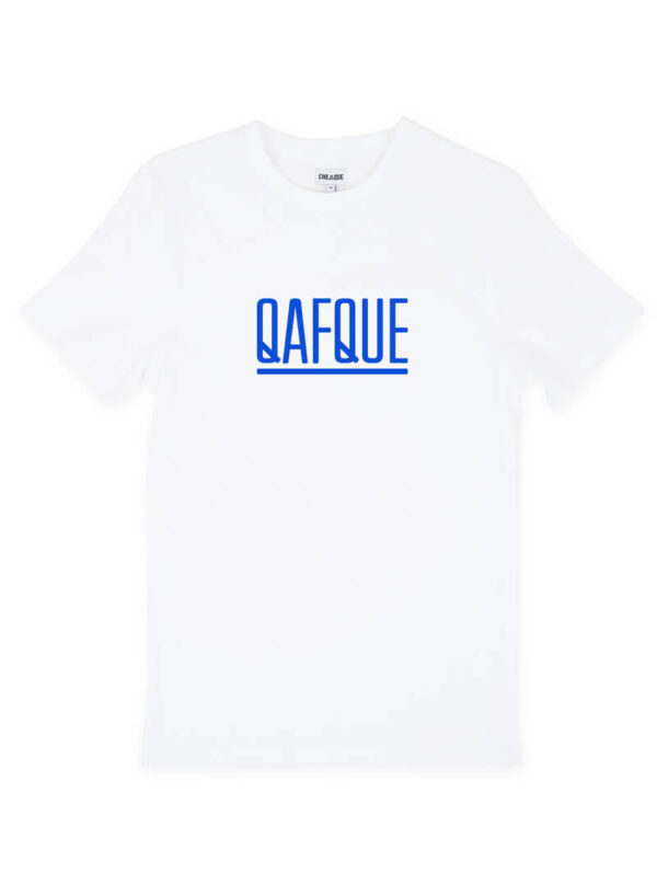 QAFQUE WIT / BLAUW
