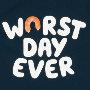 WORST DAY EVER DONKERBLAUW