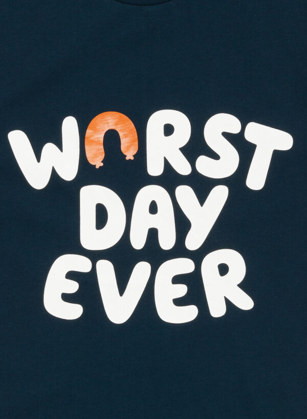 WORST DAY EVER DONKERBLAUW