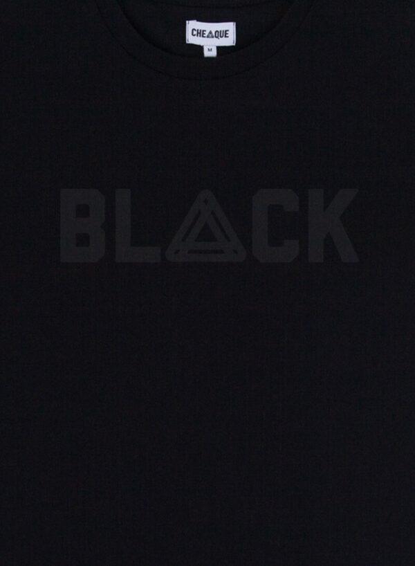 CHEAQUE BLACK / BLACK TEE