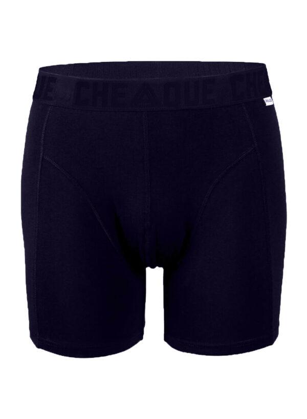 Cheaque boxer donkerblauw - Cheaque boxer - Boxershort mannen