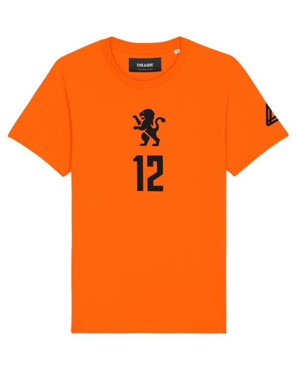 EK T-shirt volwassenen - personalisering